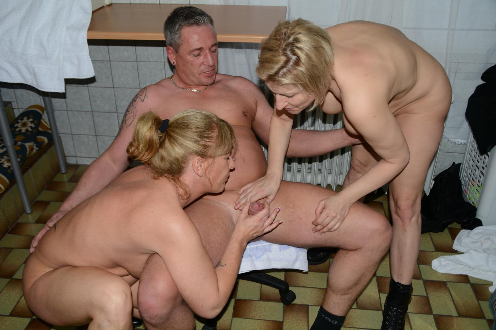 Amateur Teen Threesome Ffm