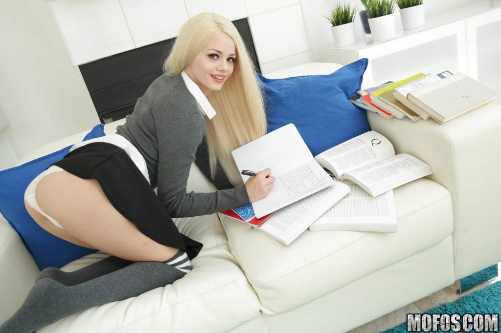 Hot brunette Adriana Chechik displaying her tight body
